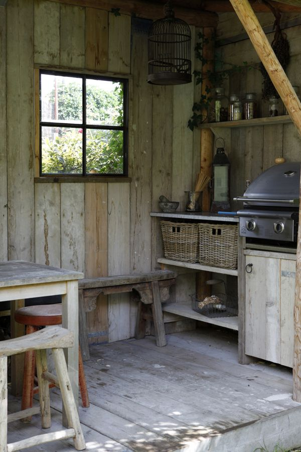 Barbecue shed