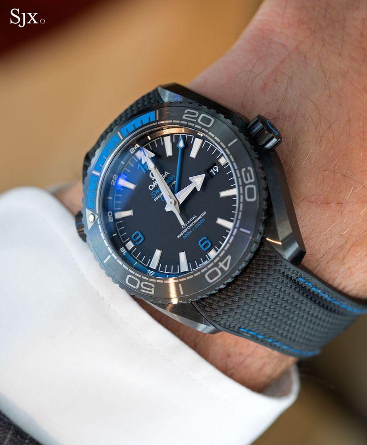 Omega Seamaster Planet Ocean Deep Black Blue