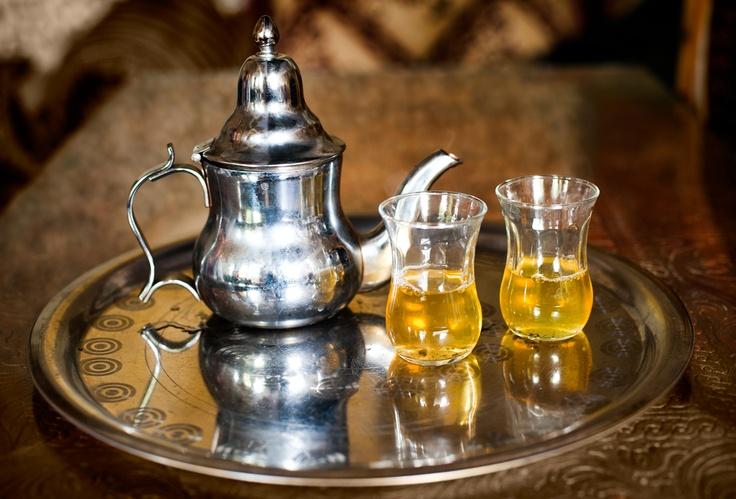 Maroc - Thé à la menthe (la boisson de bienvenue)