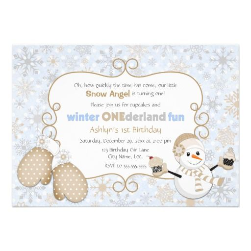8 best Winter Birthday Party Invitations images on Pinterest