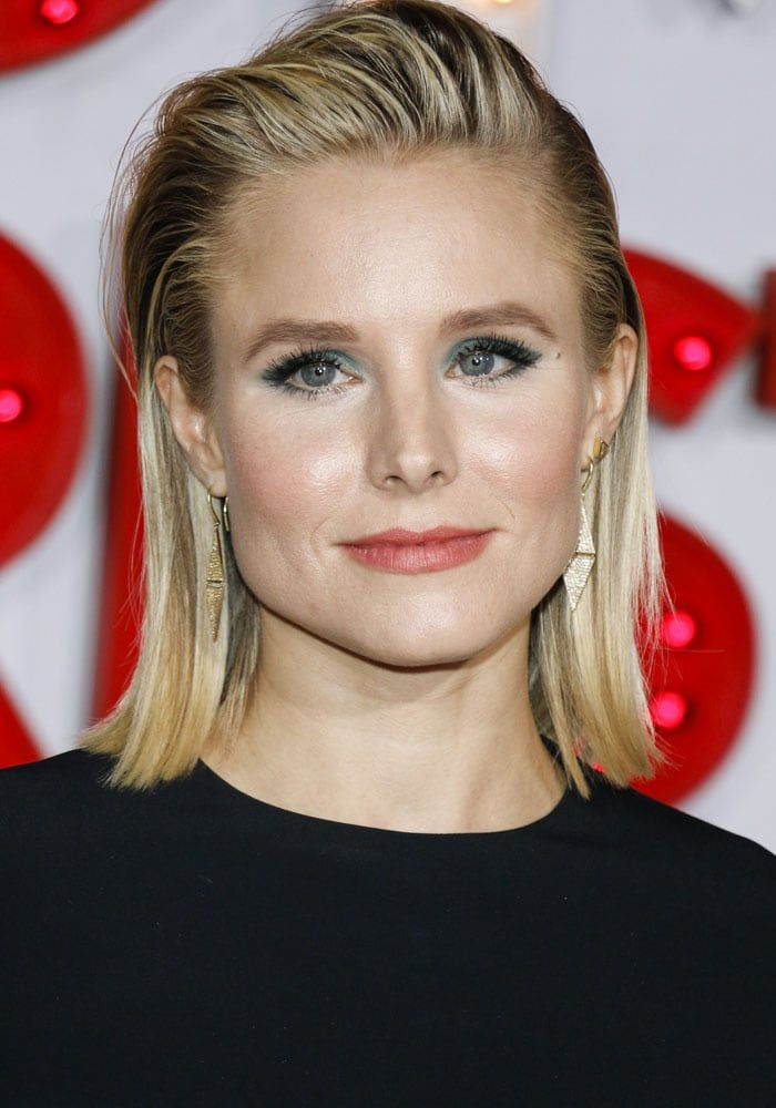 """Kristen Bell at the Los Angeles premiere of STX Entertainment's """"A Bad Moms Christmas"""" on October 30, 2017"""