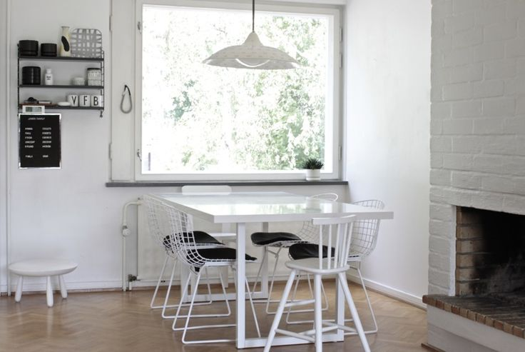 great kitchen table (see DIY section for how-to)    time of the aquarius: DIY table (once more)