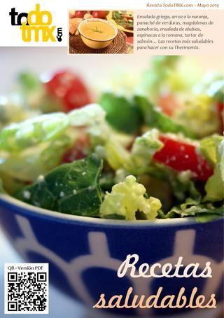 Todo Thermomix - Mayo 2014  Revista digital dedicada a Thermomix con recetas, trucos, nutrición. Este mes está dedica a la recetas saludables... recetas para hacer con Thermomix de una forma sencilla y fácil.