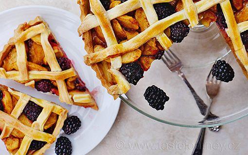 Jablka+a+ostružiny+za+mřížemi.+Dokonalá+kombinace+v+mřížkovém+koláči