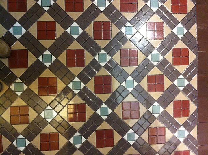 Tesselated tiles in Queen Vic Building - Sydney