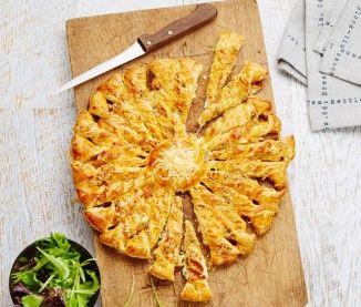 Recette de la tarte soleil aux 4 fromages