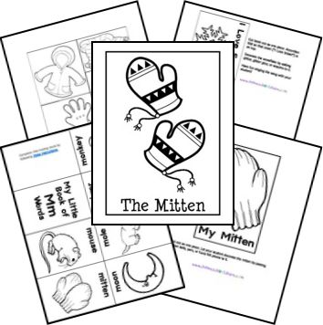 The Mitten Free Unit Study