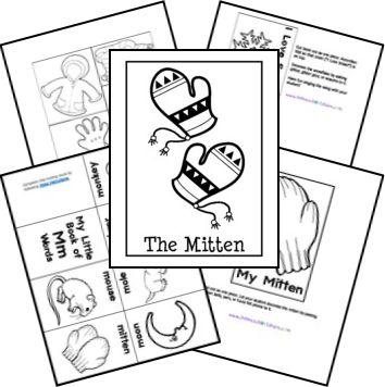 The Mitten by Jan Brett Free Unit Study | Teaching Ideas | Pinterest ...
