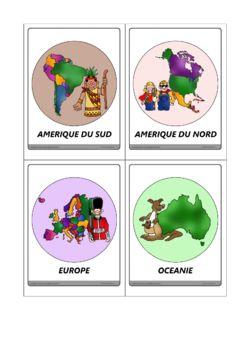 Les 7 continents en images