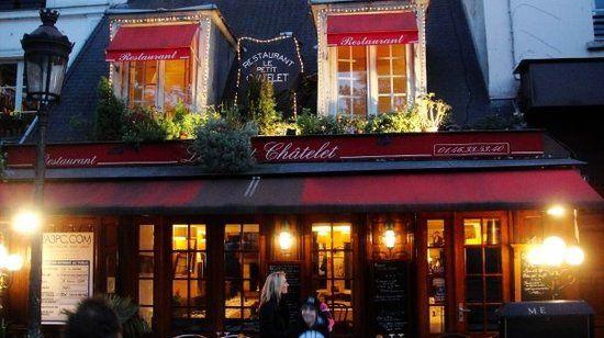 Restaurant Le Petit Chatelet 39, rue de la Bucherie, Paris