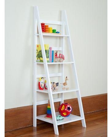 Ladder Shelf White $108