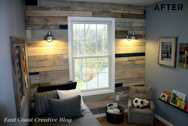 Find out how to turn shipping pallets into amazing (and inexpensive) wall art.