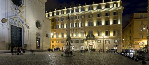 5 Star Hotel in Rome near Pantheon - Grand Hotel de La Minerve - Official Website - Luxury Hotel Rome
