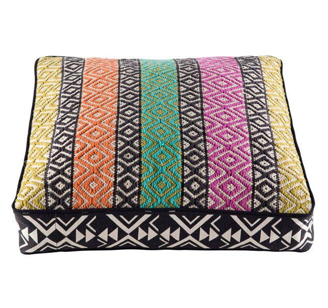 Kas Zuni 60x60+10cm Filled Cushion Multi