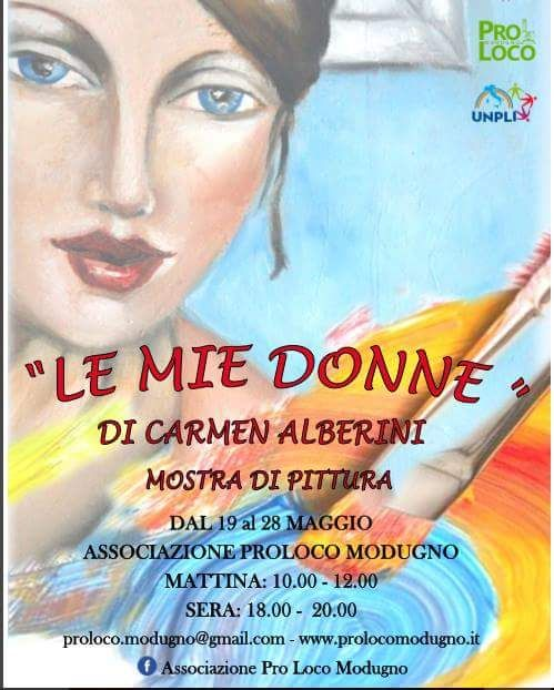 """""""LE MIE DONNE"""" Personale di Carmen Alberini"""
