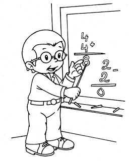 çocukla çocuk Olun Meslekler Boyama Sayfaları Activitati School