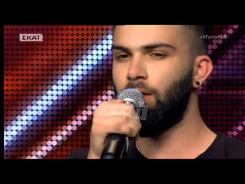 X Factor - Auditions: Ανδρέας Λέοντας - Τα σχοινιά σου - YouTube