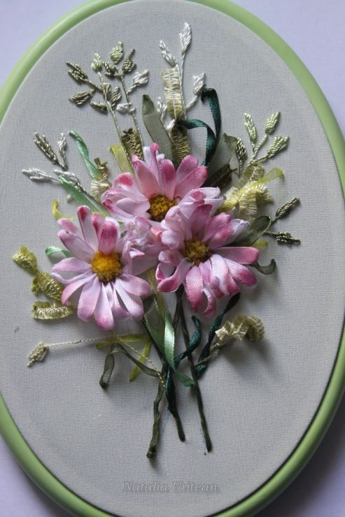 376 Best Silk Ribbon Embroidery Images On Pinterest Embroidery