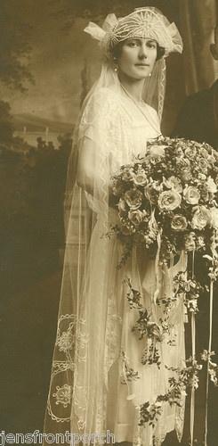 Awesome 1920's wedding photo