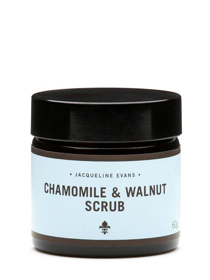Jacqueline Evans - Chamomile & Walnut scrub