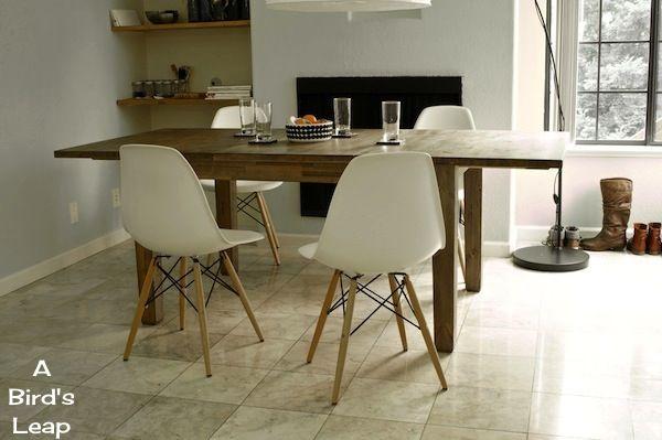 stornäs table | DIY IKEA STORNÄS Dinner Table Mod