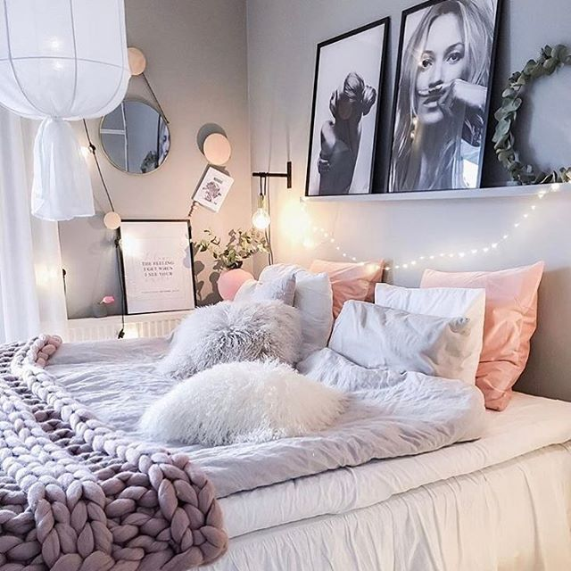 Teenage Bedroom Wall Ideas Tumblr: 950 Best Images About Beautiful Adult Bedrooms On
