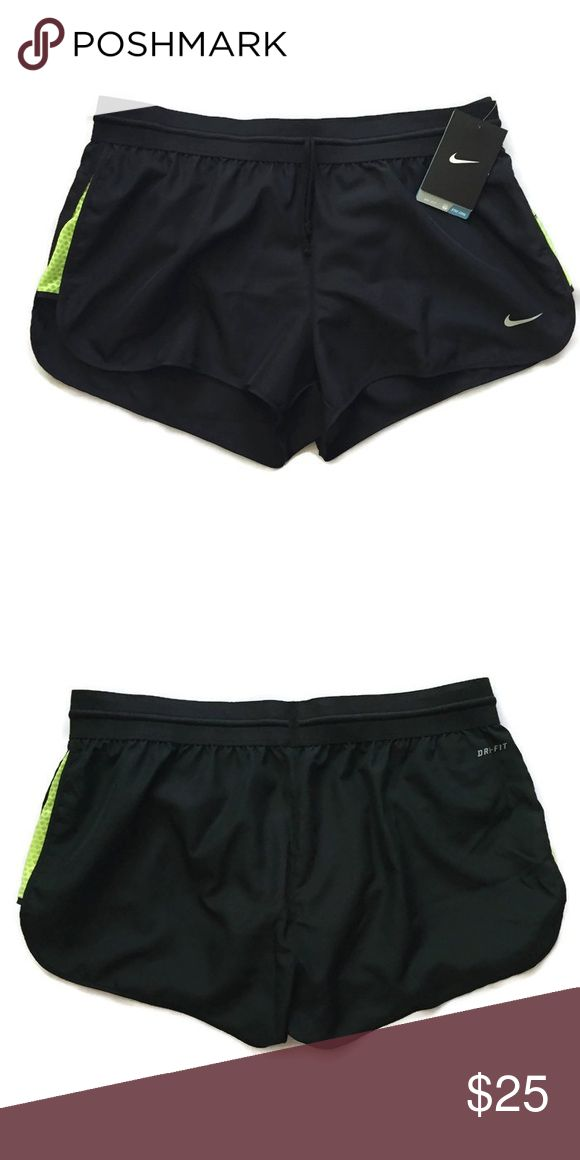 Nike Dri Fit Women's Running Shorts Size M 100% Authentic Nike Dri Fit Women's Running Shorts. Brand new with tag. Size M. Comes with underwear liner. Nike Shorts
