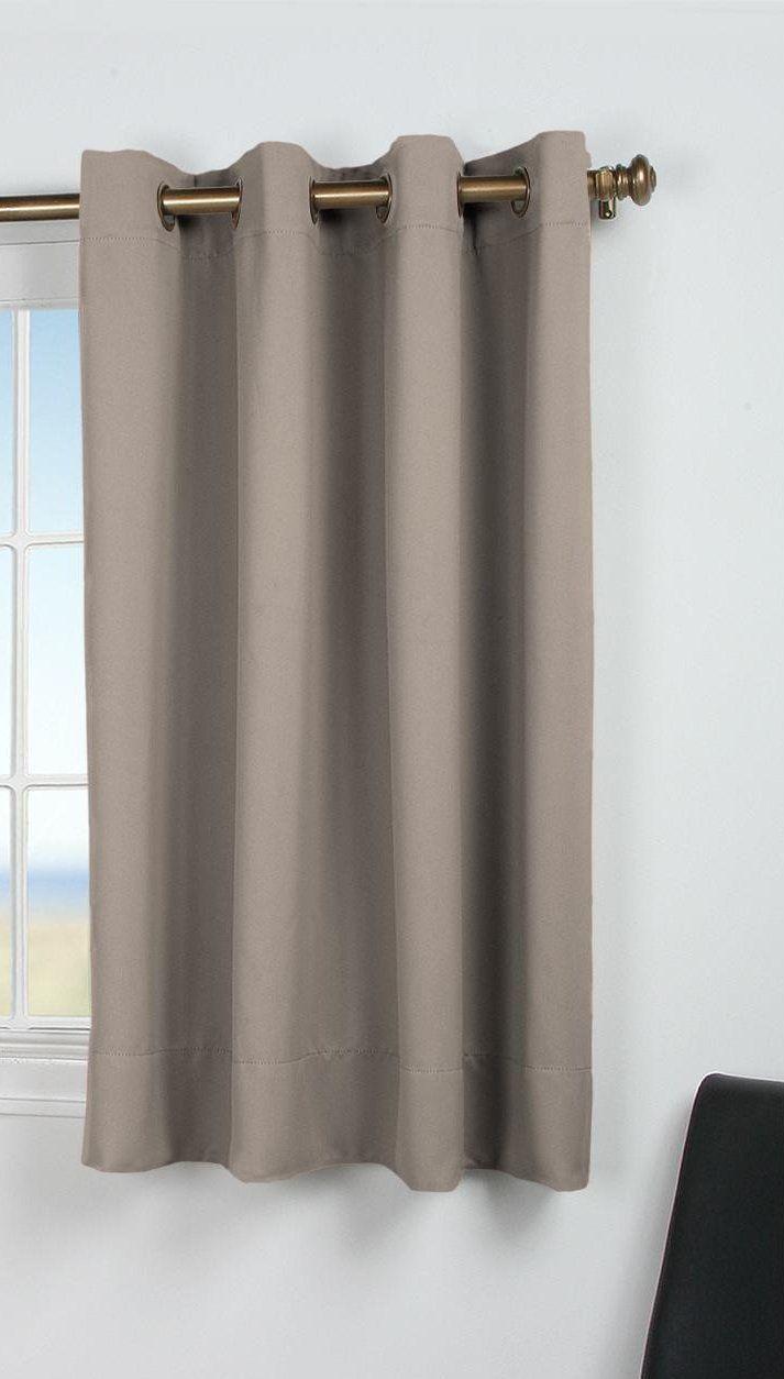 Aleetha blackout short single curtain panel bedroomcurtainssheer