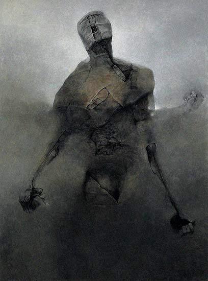 A great fantasy artist Zdzislaw Beksinski: Paintings - page 3