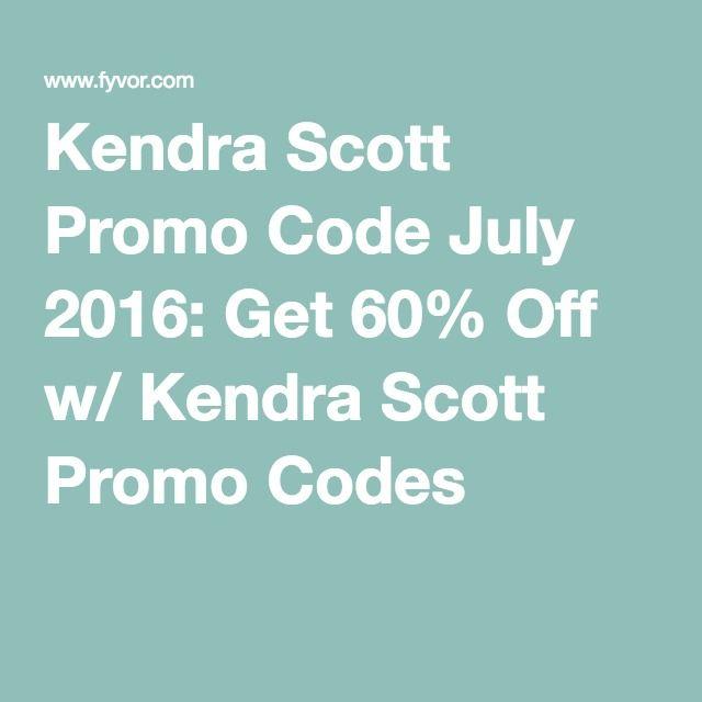 Kendra Scott Promo Code July 2016: Get 60% Off w/ Kendra Scott Promo Codes