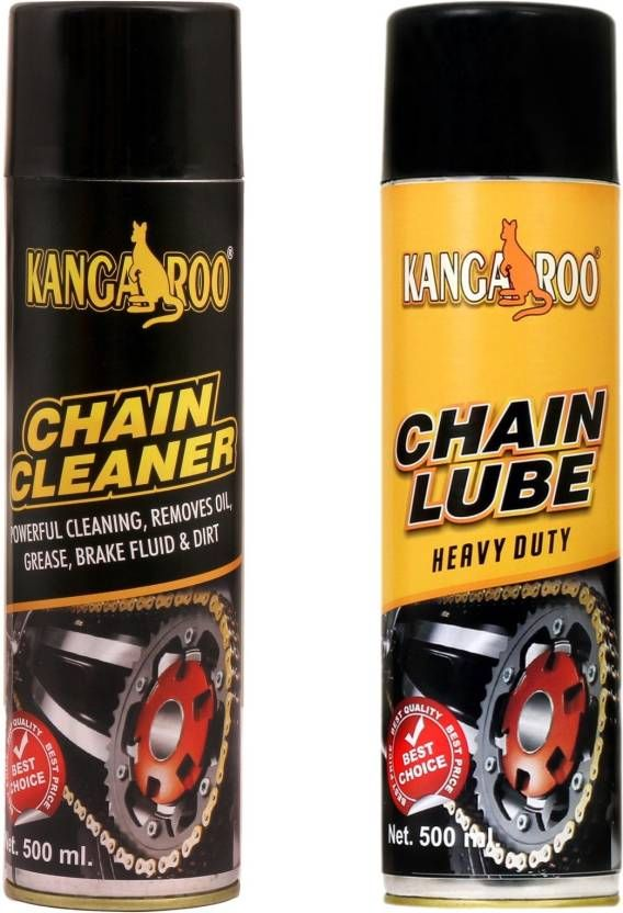 Ride With Style Using Kangaroo Chain Lubricant Spray Buy Online