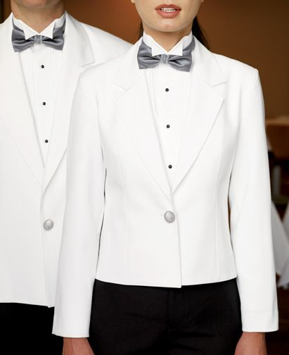Similar to the hotel uniform Ella wears the first time Zayn sees her.