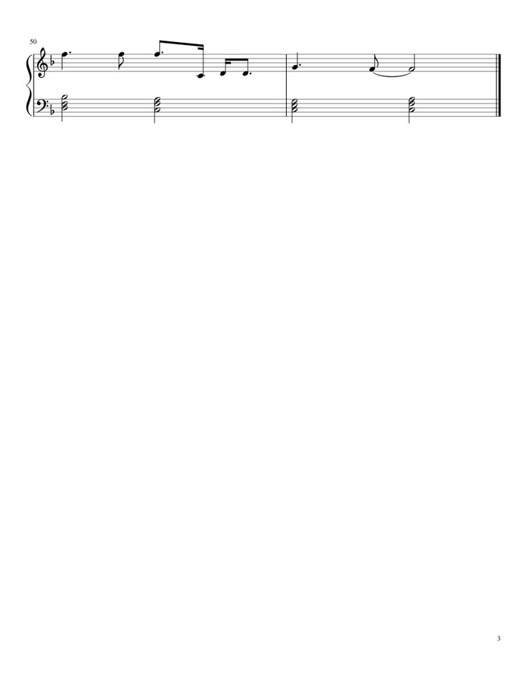 Sheet music made by sarah_c for Piano