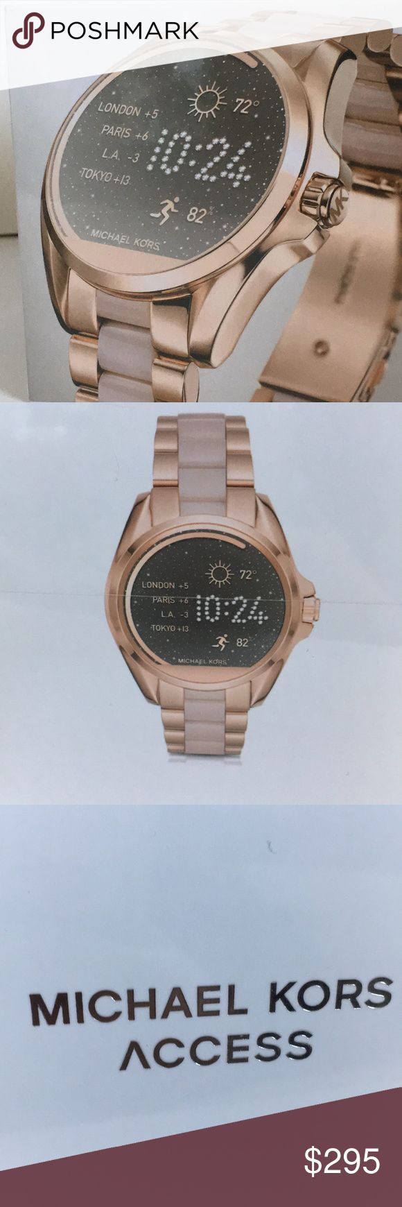 Michael kors smart watch New! Still wrapped! Compatible with iPhone and android Michael Kors Accessories Watches