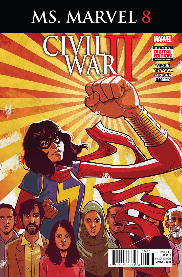Buy Ms Marvel #8 Cw2 At Georgetownics For Only $ 199
