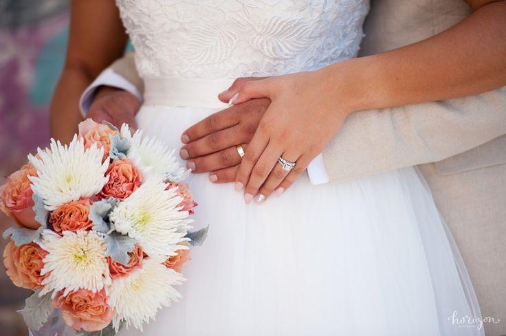 Wedding Photography Brisbane, bride, flowers, bouquet, love, natural, lace sleeve wedding dress, Horizon Studios