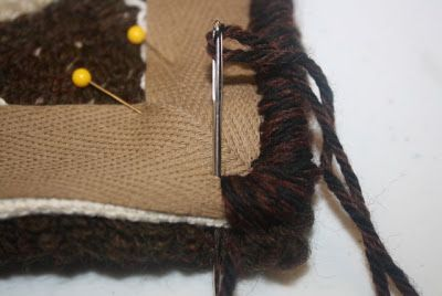 Primitives by the light of the moon: How I Bind A Hooked Rug