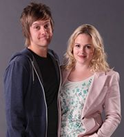 Hebburn is a Brit. sitcom filled with hilarious one-liners and realy funny characters.