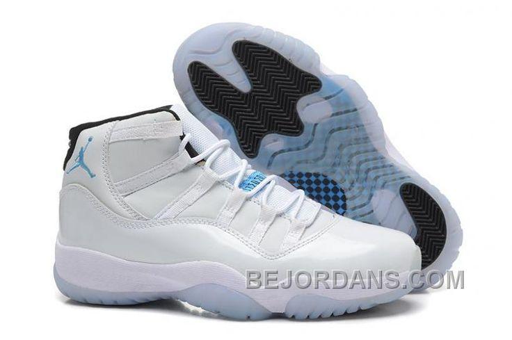 http://www.bejordans.com/big-discount-girls-nike-air-jordan-11-xi-gs-white-blue-for-sale-womens-size-xtt4i.html BIG DISCOUNT GIRLS NIKE AIR JORDAN 11 (XI) GS WHITE BLUE FOR SALE WOMENS SIZE XTT4I Only $83.00 , Free Shipping!