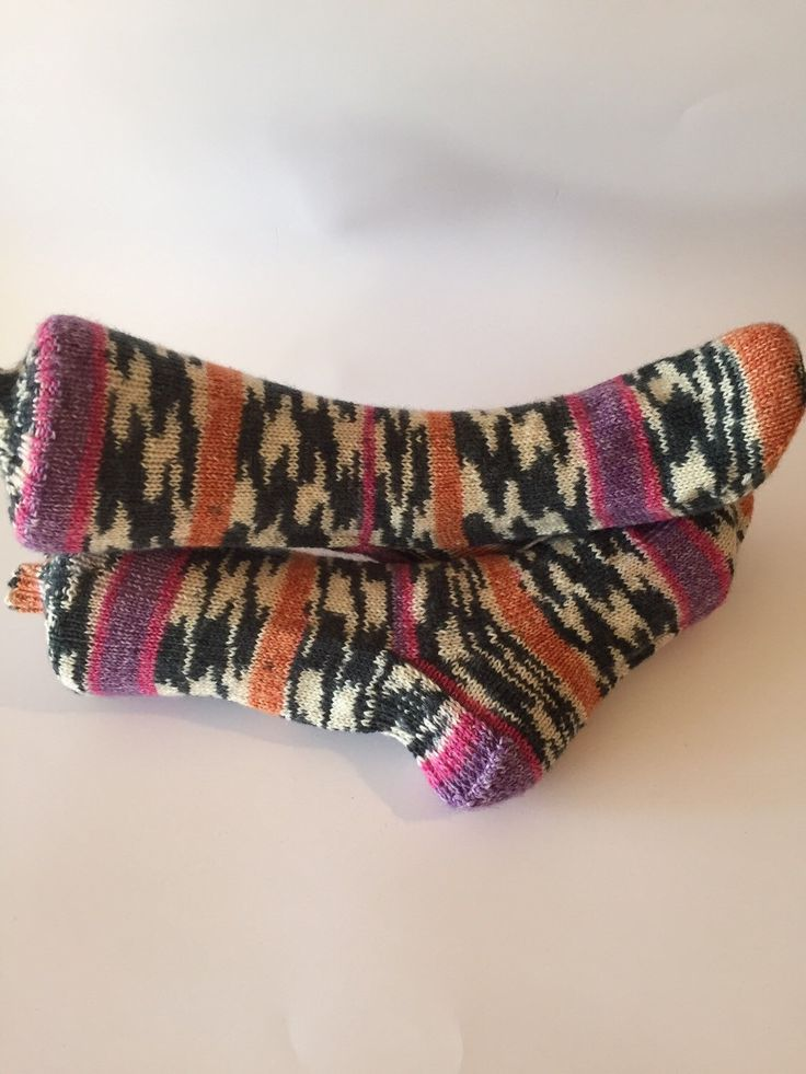 A personal favorite from my Etsy shop https://www.etsy.com/ca/listing/254804540/handmade-socks-size-10-12