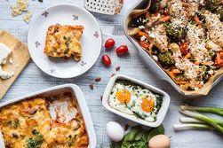 Ilustrační foto ke článku Jídla zapečená v jedné míse: Zkuste těstoviny, vajíčka nebo zeleninu s masem