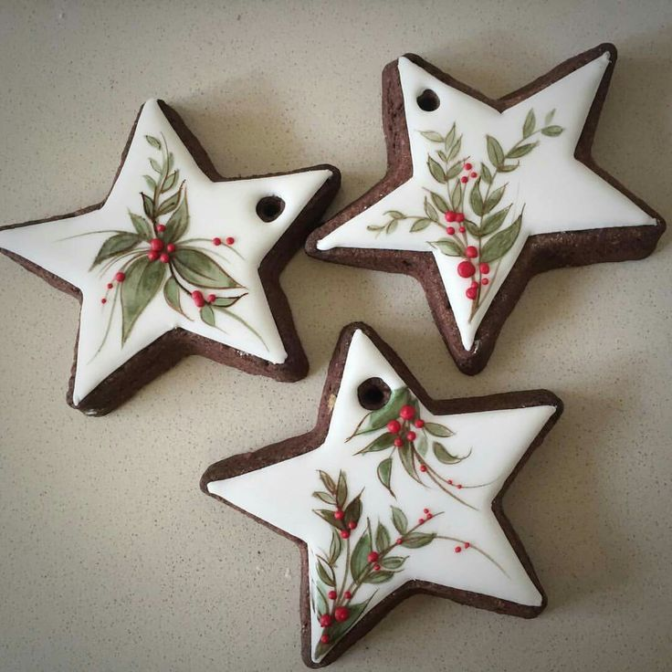 Image result for star christmas cookies