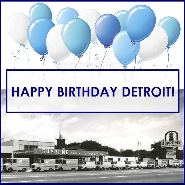 Happy Birthday Detroit The 313 Is 317 We Have Loved You And Called You Home Since 1949 And We Look Forward To Celebrating With Images Happy Birthday Birthday Detroit