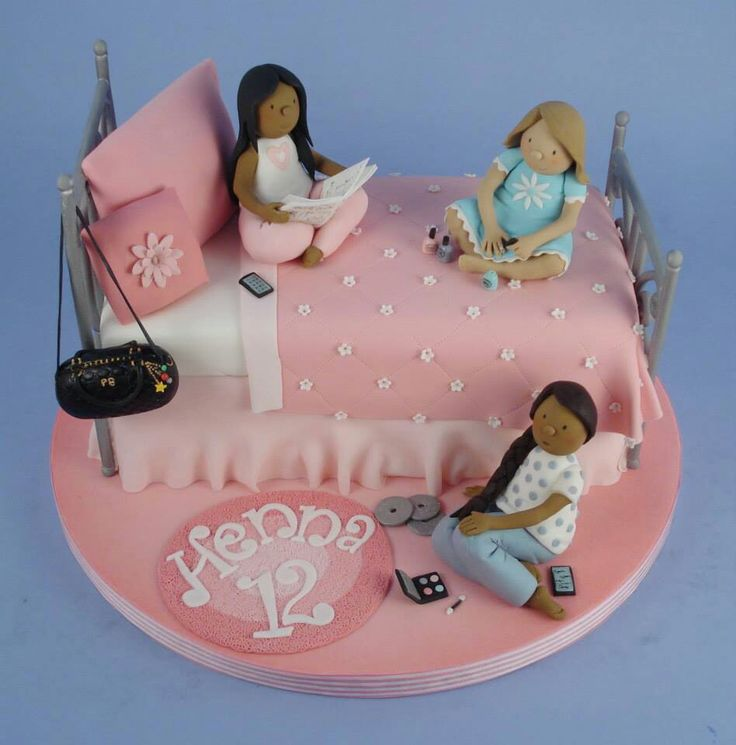 cake ideas for girls danni s cakes sleepover cakes sleepover 2245