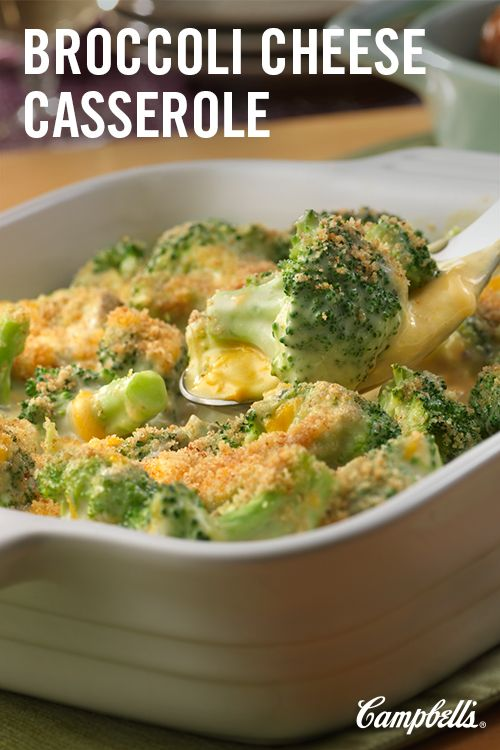 Here's a fabulous side dish that pairs well with almost any entrée.  Broccoli is mixed with a flavorful cheese sauce, topped with buttered bread crumbs and baked to perfection - all in just 40 minutes!