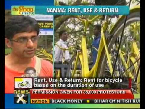 The first ever cycle sharing initiative with the use of free and open source software has been launched at the Indian Institute of Science in Bangalore. Namma Cycle is a pilot project that hopes to encourage the public to take to pedal power and help build a green city.