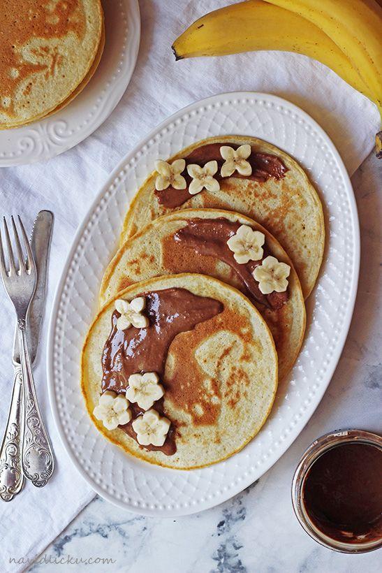 Buttermilk Pancakes / Lívance z podmáslí | Na vidličku food blog