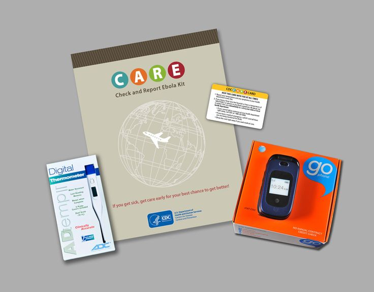 Care check and report Ebola kit