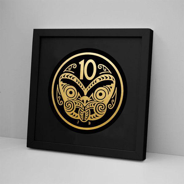 10 Cent Coin - Foil Print