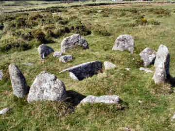 Burial Cist on Twelve Mens Moor; Oliver's Cornwall - Bodmin Moor